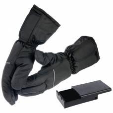 Перчатки с подогревом RedLaika RL-P-03 (AA) на батарейках, черные (размер L/XL)