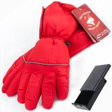 Перчатки с подогревом RedLaika RL-P-03 (AA) на батарейках, красные (размер L/XL)