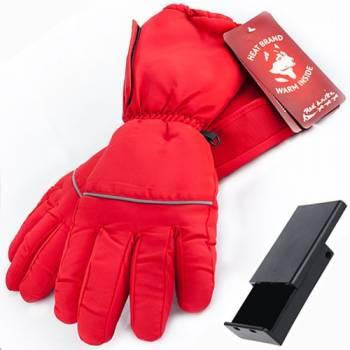 Перчатки с подогревом RedLaika RL-P-03 (AA) на батарейках, красные (размер XS)