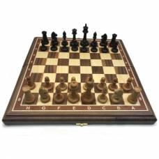 Шахматы американский орех 45 Классические 7, деревянные