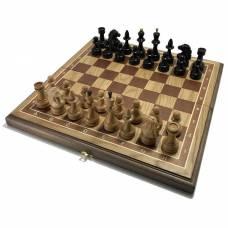 Шахматы дуб 45 Лидер, деревянные