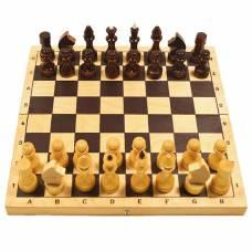 Шахматы обиходные лак (CH403)