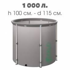 Бочка для воды EKUD складная, из ПВХ (1000 л., h=100см)
