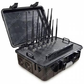 Мультичастотный мобильный подавитель Терминатор 180 Кейс-3 (64х12)