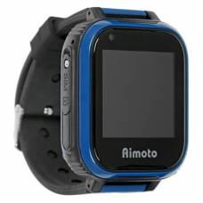 Умные 4G часы Aimoto Pro Indigo (черный) с видеозвонком и мощной батареей