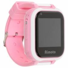 Умные 4G часы Aimoto Pro Indigo (розовый) с видеозвонком и мощной батареей