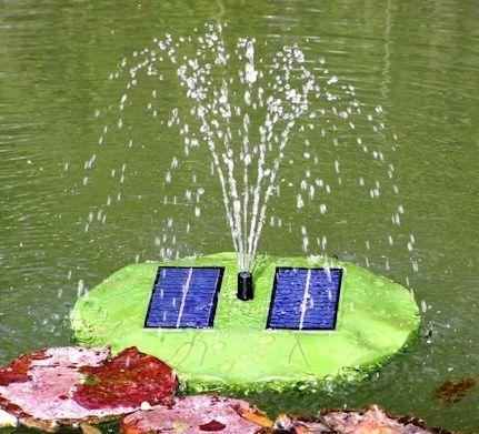 Вы можете запускать этот фонтан даже в реке или озере!